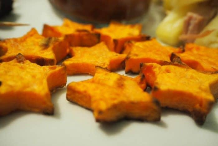 Sweet potato mini stars