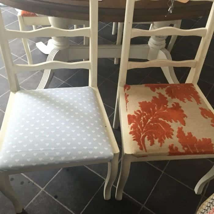 the finished chair