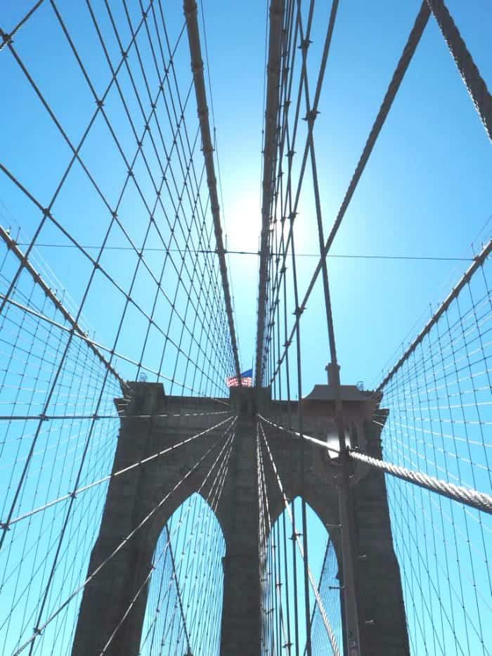 Essential New York Photos - 5 of my favourite photo spots in New York.... Walking across Brooklyn Bridge