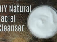 3 Ingredient DIY Natural Face Cleanser...